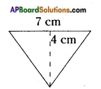 AP Board 8th Class Maths Solutions Chapter 9 Area of Plane Figures InText Questions 2