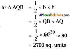 AP Board 8th Class Maths Solutions Chapter 9 Area of Plane Figures InText Questions 25