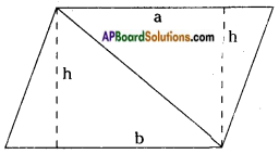 AP Board 8th Class Maths Solutions Chapter 9 Area of Plane Figures InText Questions 30