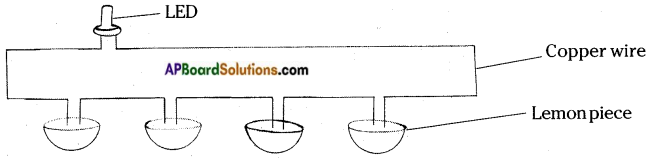 AP Board 8th Class Physical Science Solutions Chapter 9 Electrical Conductivity of Liquids 2