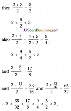AP Board 9th Class Maths Solutions Chapter 1 Real Numbers InText Questions 3