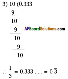 AP Board 9th Class Maths Solutions Chapter 1 Real Numbers InText Questions 7