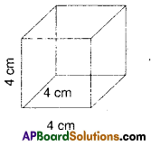 AP Board 9th Class Maths Solutions Chapter 10 Surface Areas and Volumes InText Questions 2