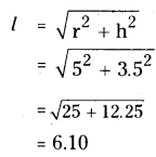 AP Board 9th Class Maths Solutions Chapter 10 Surface Areas and Volumes InText Questions 23