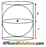 AP Board 9th Class Maths Solutions Chapter 10 Surface Areas and Volumes InText Questions 27