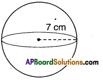 AP Board 9th Class Maths Solutions Chapter 10 Surface Areas and Volumes InText Questions 28