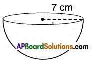 AP Board 9th Class Maths Solutions Chapter 10 Surface Areas and Volumes InText Questions 29