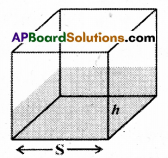 AP Board 9th Class Maths Solutions Chapter 10 Surface Areas and Volumes InText Questions 9