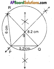 AP Board 9th Class Maths Solutions Chapter 12 Circles Ex 12.3 2