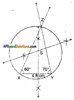 AP Board 9th Class Maths Solutions Chapter 12 Circles Ex 12.3 3
