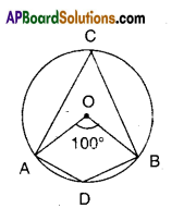 AP Board 9th Class Maths Solutions Chapter 12 Circles Ex 12.4 1