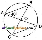 AP Board 9th Class Maths Solutions Chapter 12 Circles Ex 12.4 3