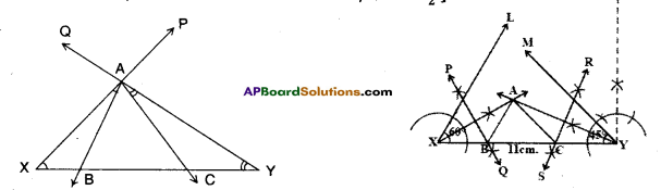 AP Board 9th Class Maths Solutions Chapter 13 Geometrical Constructions InText Questions 5