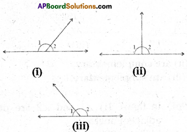 AP Board 9th Class Maths Solutions Chapter 4 Lines and Angles InText Questions 7