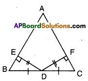 AP Board 9th Class Maths Solutions Chapter 7 Triangles Ex 7.1 10