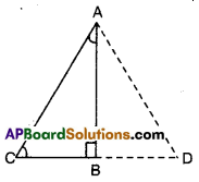 AP Board 9th Class Maths Solutions Chapter 7 Triangles Ex 7.1 13
