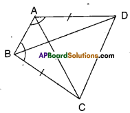 AP Board 9th Class Maths Solutions Chapter 7 Triangles Ex 7.1 2