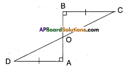 AP Board 9th Class Maths Solutions Chapter 7 Triangles Ex 7.1 3