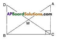 AP Board 9th Class Maths Solutions Chapter 7 Triangles Ex 7.1 6