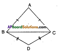 AP Board 9th Class Maths Solutions Chapter 7 Triangles Ex 7.2 5