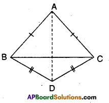 AP Board 9th Class Maths Solutions Chapter 7 Triangles Ex 7.2 6