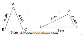 AP Board 9th Class Maths Solutions Chapter 7 Triangles InText Questions 11