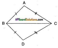 AP Board 9th Class Maths Solutions Chapter 7 Triangles InText Questions 4