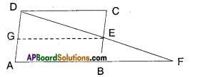 AP Board 9th Class Maths Solutions Chapter 8 Quadrilaterals Ex 8.3 2