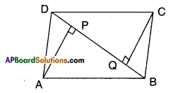 AP Board 9th Class Maths Solutions Chapter 8 Quadrilaterals Ex 8.3 6