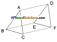 AP Board 9th Class Maths Solutions Chapter 8 Quadrilaterals Ex 8.3 7