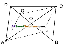 AP Board 9th Class Maths Solutions Chapter 8 Quadrilaterals Ex 8.3 9