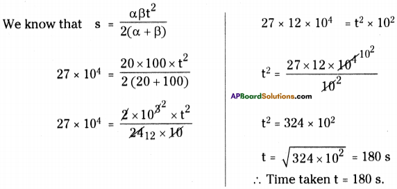 AP Board 9th Class Physical Science Solutions Chapter 1 Motion 13