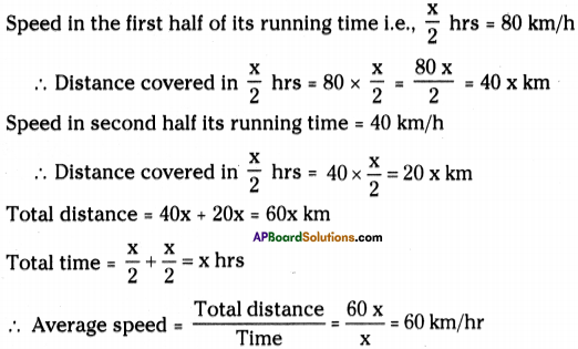 AP Board 9th Class Physical Science Solutions Chapter 1 Motion 17