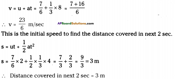 AP Board 9th Class Physical Science Solutions Chapter 1 Motion 20