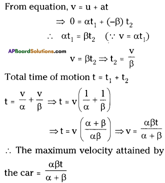 AP Board 9th Class Physical Science Solutions Chapter 1 Motion 21