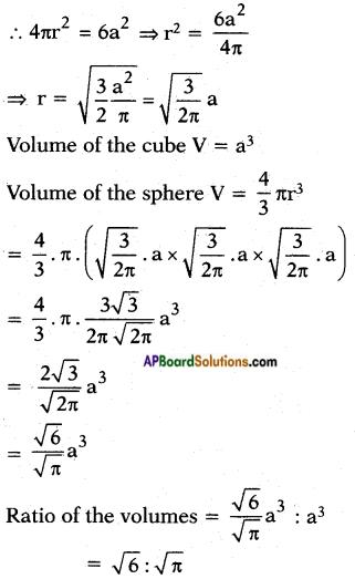 AP SSC 10th Class Maths Solutions Chapter 10 Mensuration InText Questions 5