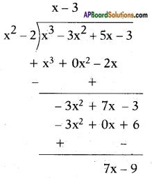 AP SSC 10th Class Maths Solutions Chapter 3 Polynomials Ex 3.4 1