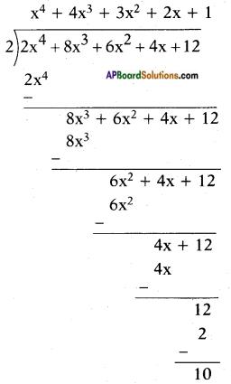 AP SSC 10th Class Maths Solutions Chapter 3 Polynomials Ex 3.4 12