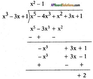 AP SSC 10th Class Maths Solutions Chapter 3 Polynomials Ex 3.4 6