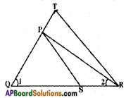 AP SSC 10th Class Maths Solutions Chapter 8 Similar Triangles Optional Exercise 1