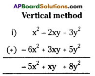 AP Board 7th Class Maths Solutions Chapter 10 Algebraic Expressions Ex 4 1