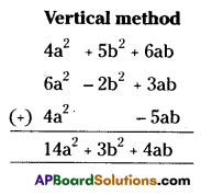 AP Board 7th Class Maths Solutions Chapter 10 Algebraic Expressions Ex 4 2