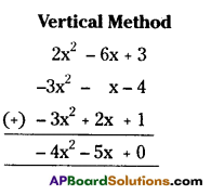 AP Board 7th Class Maths Solutions Chapter 10 Algebraic Expressions Ex 4 4
