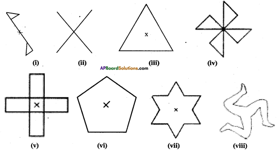 AP Board 7th Class Maths Solutions Chapter 15 Symmetry Ex 3 2