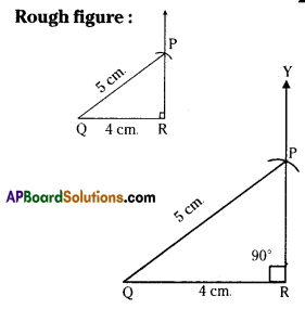 AP Board 7th Class Maths Solutions Chapter 9 Construction of Triangles Ex 4 2