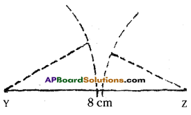 AP Board 7th Class Maths Solutions Chapter 9 Construction of Triangles InText Questions 10