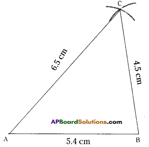 AP Board 7th Class Maths Solutions Chapter 9 Construction of Triangles InText Questions 6
