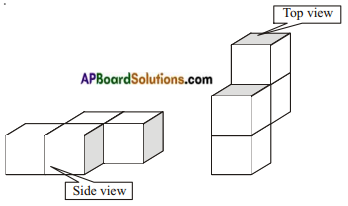 AP Board 8th Class Maths Notes Chapter 13 Visualizing 3-D in 2-D 1