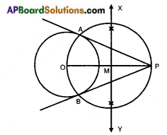AP SSC 10th Class Maths Notes Chapter 9 Tangents and Secants to a Circle 9