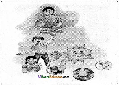 AP Board 6th Class Hindi Solutions सन्नद्धता कार्यक्रम Chapter 11 मम्मी की रोटी गोल.. गोल.. 1
